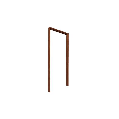MJ วงกบประตู   สีไม้แดง FR80/200  - RW