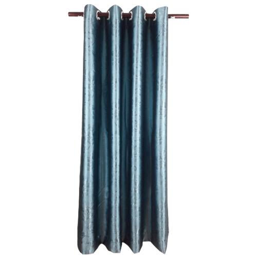 Davinci ม่านประตูตาไก่ ขนาด 150x250 ซม. 1901-4  D สีฟ้า