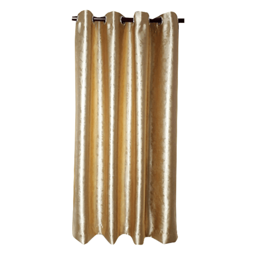 Davinci ม่านประตูตาไก่ ขนาด 150x250 ซม. 1903-1  D สีทอง