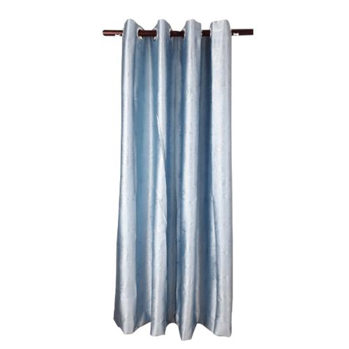 Davinci ม่านประตูตาไก่ ขนาด 150x250 ซม. 7702-2 D สีฟ้า