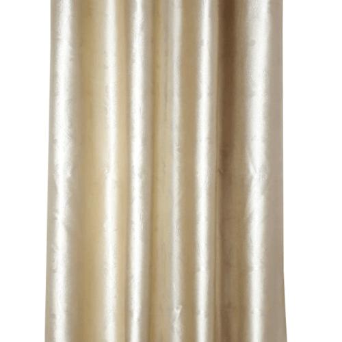 Davinci ม่านประตูตาไก่ ขนาด 150x250 ซม. 7702-6  D สีทอง