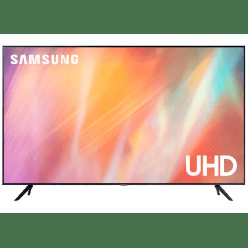 SAMSUNG โทรทัศน์ UHD TV ขนาด 50 นิ้ว UA50AU7700KXXT สีดำ