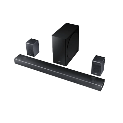 SAMSUNG เครื่องเสียง Soundbar HW-Q90R/XT สีดำ