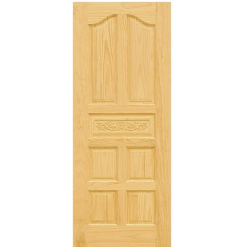 D2D ประตูไม้สนนิวซีแลนด์ ขนาด 100x200cm. Eco Pine-010