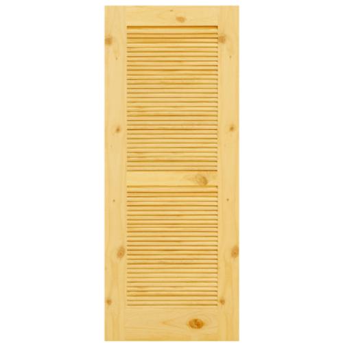 D2D ประตูไม้สนนิวซีแลนด์ ขนาด 100x200 ซม. Eco Pine-020