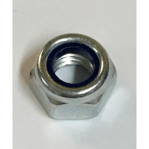 หัวน็อตล็อค ขนาด5/16 นิ้ว(50ตัว) ซิงค์ขาว