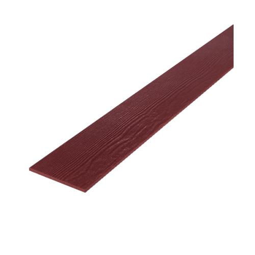 DURA ไม้ฝาดูร่า 20x400x0.8 ซม. สีแดงมะฮอกกานี  มะฮอกกานี