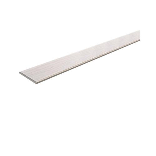 Dura one ไม้ระแนงดูร่าวัน ลายไม้สีซีเมนต์ 7.5x300x0.8ซม. ลายไม้ ขอบตรง สีซีเมนต์