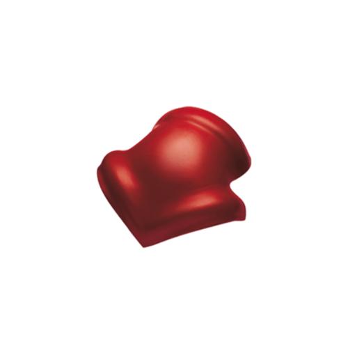 Dura one ครอบ3ทางลอนคู่   สีแดงเศรษฐี ขนาด  0.5x42x47ซม. Dura oneONE RT
