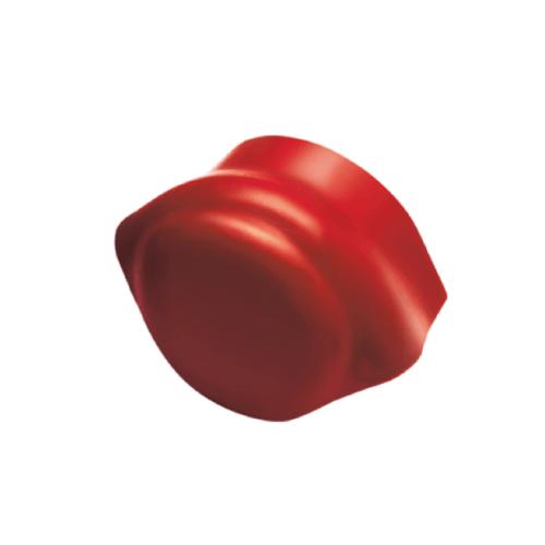 Dura one ครอบปิดจั่ว-ปิดปลาย ลอนคู่ดูร่าวัน สีแดงเศรษฐี