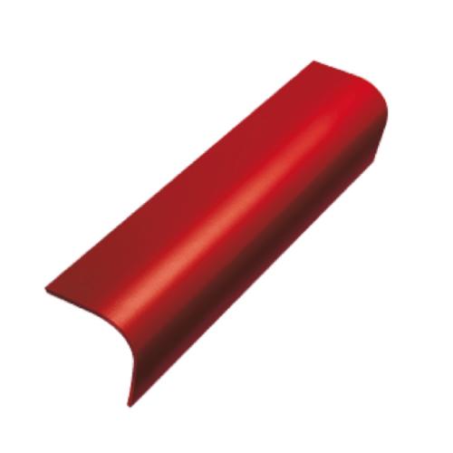Dura one ครอบข้าง ลอนคู่ดูร่าวัน สีแดงเศรษฐี