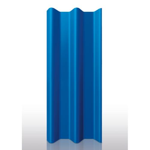 DURA ลอนคู่ดูร่าวัน ขนาด 0.5x50x120ซม. สีน้ำเงินวาสนา