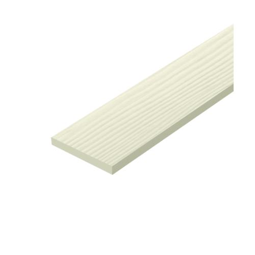 DURA ไม้รั้ว ขนาด 10x300x1.2 ซม  ลายไม้  สีรองพื้น
