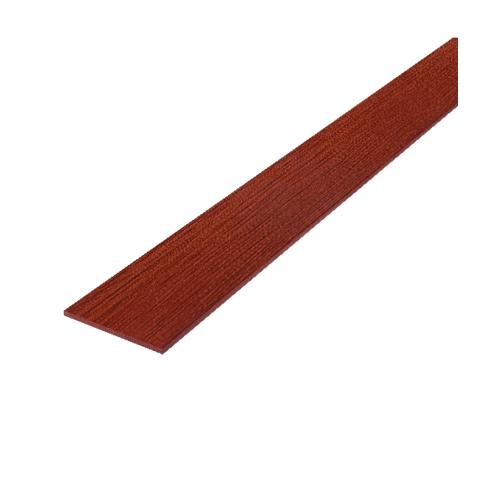 Dura one ไม้ฝาดูร่า 0.8x20x300 ซม. ไม้แดง สีแดง