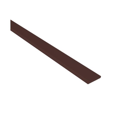 Dura one ไม้บัวดูร่า 1.2x10x300ซม. สีโอ๊คเข้ม