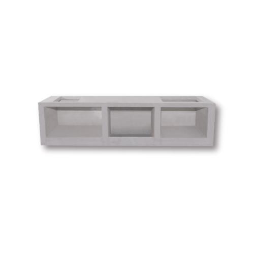 DURA ดูร่าวันเคาท์เตอร์ ท็อป  56x90.5x7.5 cm. สีขาว