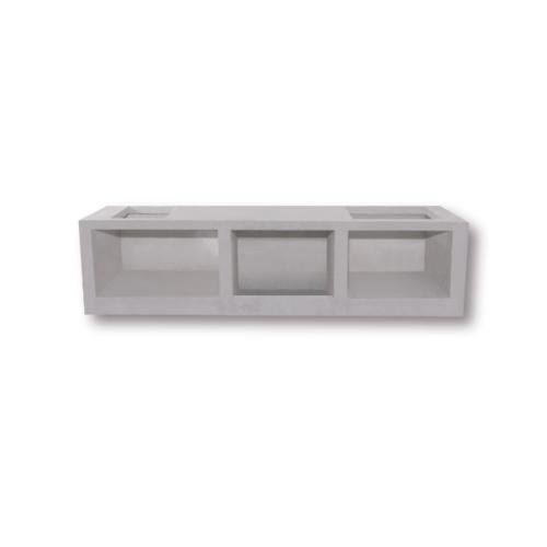 DURA ดูร่าวันเคาท์เตอร์ ท็อป 56x150x7.5 cm. - สีขาว