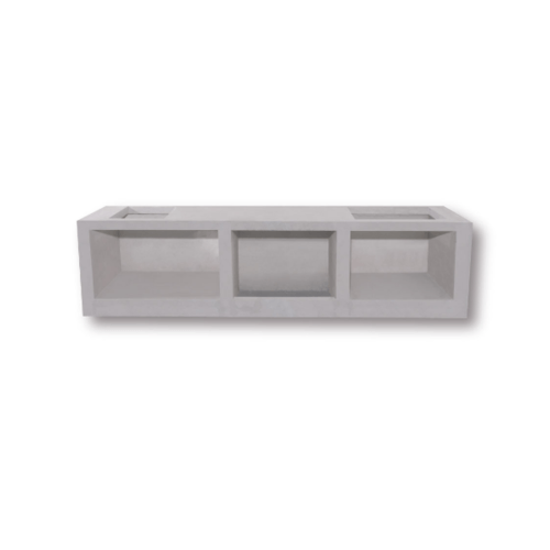 DURA ดูร่าวันเคาท์เตอร์ ท็อป 56x200x7.5 cm. - สีขาว