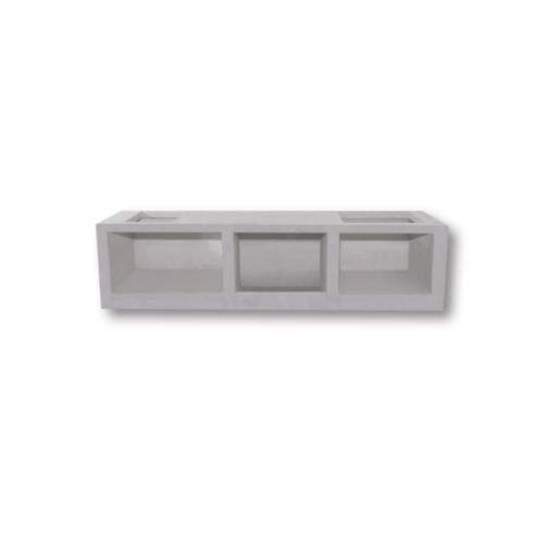 DURA ดูร่าวันเคาท์เตอร์ ซิงค์ 56x120x7.5 cm. - สีขาว
