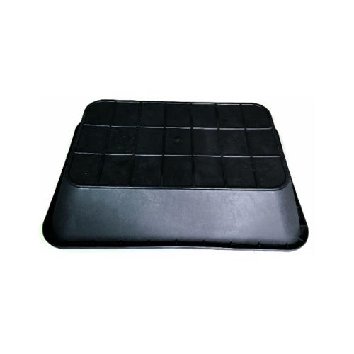 W.PLASTIC  อ่างเปลสี่เหลี่ยม  ขนาด 230 ลิตร 92x130x28 ซม. สีดำ