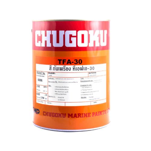 Chugoku สีกันเพรียงทีเอฟเอ 30 ชูโกกุ # BLUE TFA 30 สีน้ำเงิน