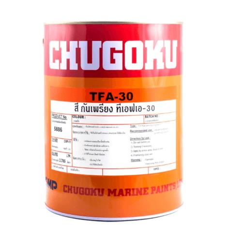 Chugoku สีกันเพรียงทีเอฟเอ 30 ชูโกกุ # RED   TFA 30 สีแดง