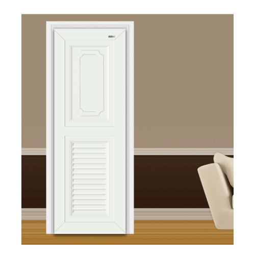 Wellingtan ประตู ABS ขนาด 70X3.5X200cm  ABS-A1 สีขาว