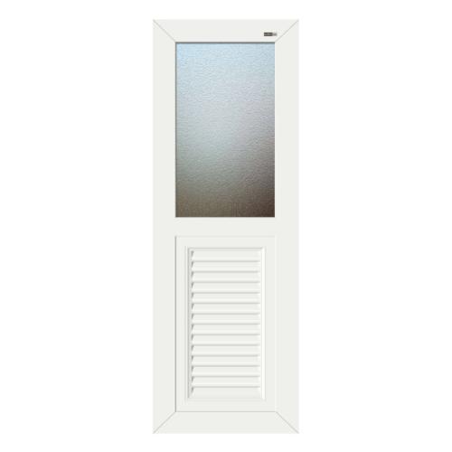 Wellingtan ประตู ABS ขนาด 70X3.5X200cm  ABS-A5 สีขาว
