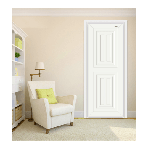 Wellingtan ประตู ABS ขนาด 80X3.5X200cm ABS-A7 สีขาว