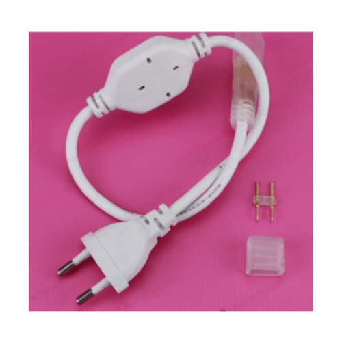 ELON ชุดคอนเนตเตอร์แอลอีดี  ZSPLO 15A 8mm. สีขาว