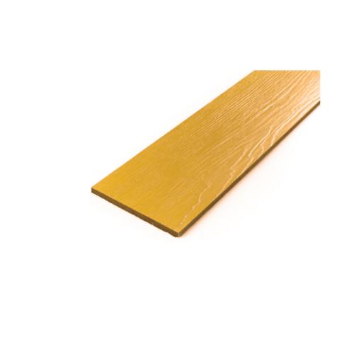 โอฬาร ไม้ฝาลายสน 0.8x15x300 ซม. สีไม้สักทอง (ลูกโลก)