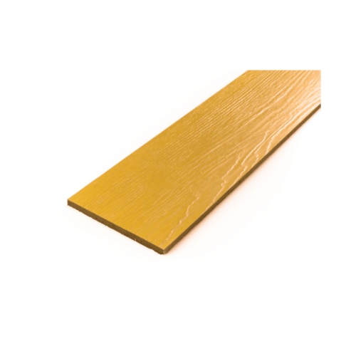 โอฬาร ไม้ฝาลายสน 0.8x15x400 ซม. สีสักทอง (ลูกโลก)