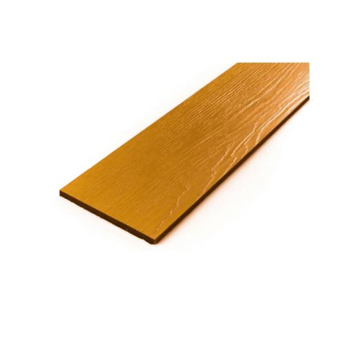 โอฬาร ไม้ฝาลายสน 0.8x15x400 ซม. สีสักอำพัน (ลูกโลก)