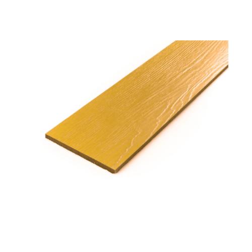 โอฬาร ไม้ฝาลายสน 0.8x20x400 ซม. สีไม้สักทอง (ลูกโลก)