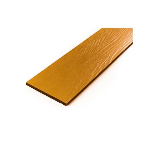 โอฬาร ไม้ฝาลายสน 0.8x20x400 ซม.สีสักอำพัน (ลูกโลก)