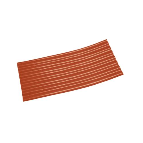 โอฬาร ลอนเล็กปลายงอน 1.20(ซ้าย-ขวา) สีหมากแดง สีแดง