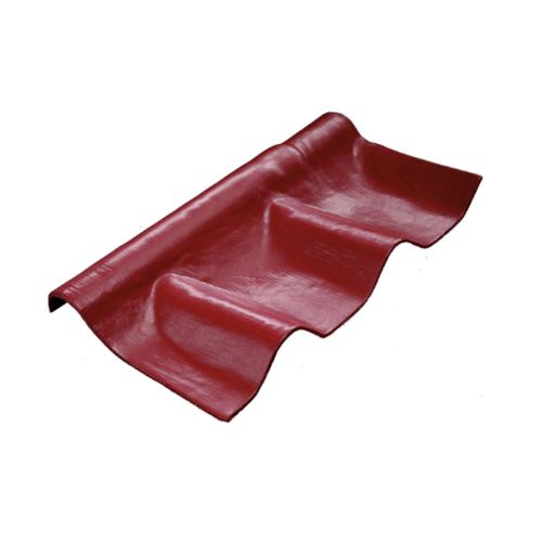 โอฬาร ครอบปรับมุมล่าง สีแดงประกายทับทิม (ลูกโลก) ลอนคู่