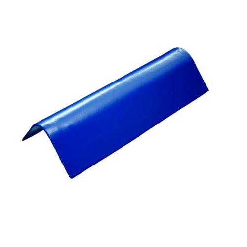 โอฬาร ครอบข้าง สีน้ำเงิน  (ลูกโลก) ลอนเล็ก