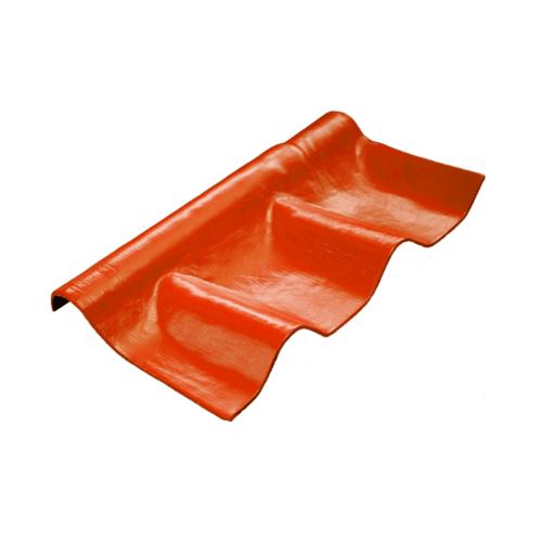โอฬาร ครอบปรับมุม-ล่าง สีประกายทองแดง (ลูกโลก) ลอนคู่