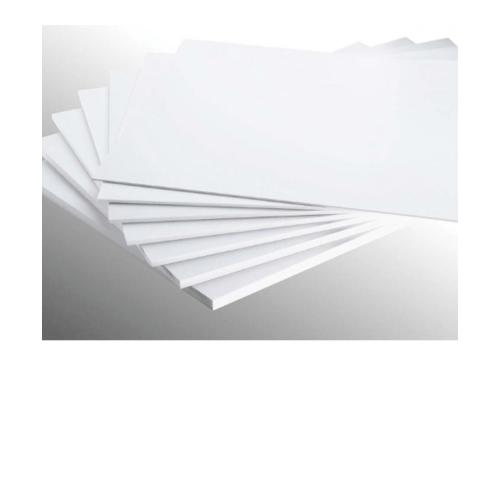 ECO PLUS แผ่นพลาสวูดขนาด หนา10มม. 122x244cm. สีขาว ECO PLUS  ขาว