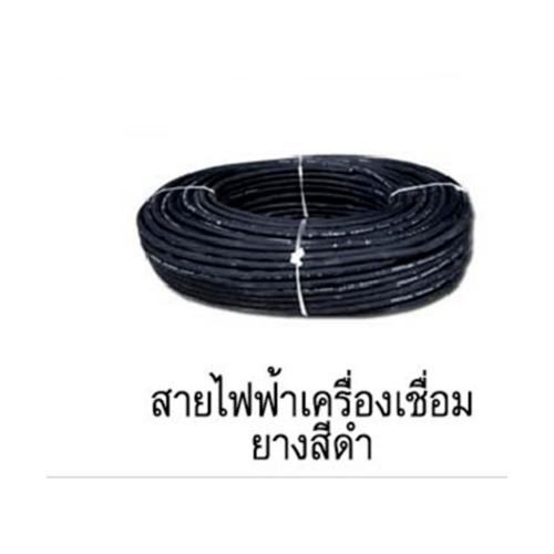 LONG WELL สายเชื่อม 35 sq mm. 800  ยาว 10 เมตร  - สีดำ