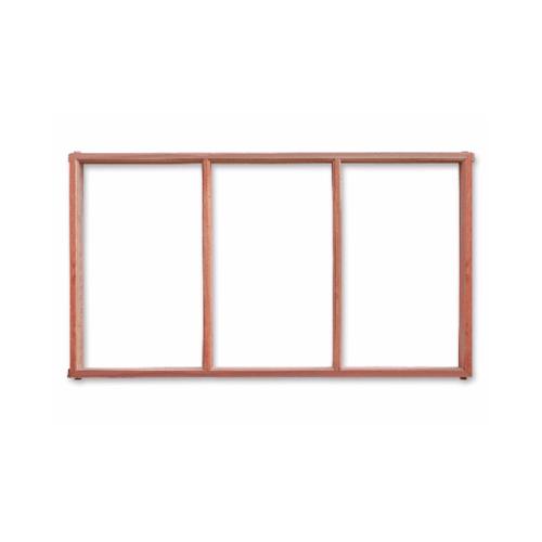 U-DON 9 วงกบหน้าต่างไม้ (3ช่อง)  ขนาด 60x100ซม.