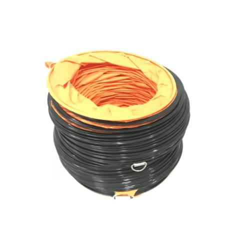 REX ท่อส่งลมระบายอากาศ DF-230 สีส้ม
