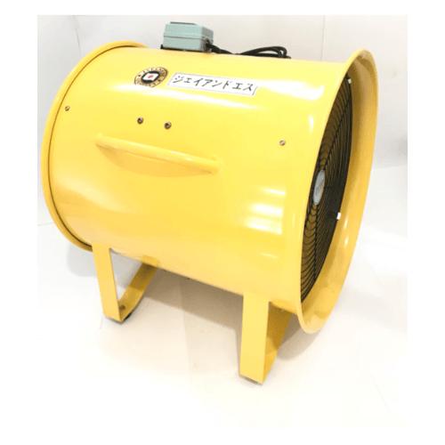 REX พัดลมท่อระบายอากาศขนาด 16 นิ้ว ECO DF-400E J&S สีเหลือง
