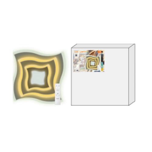 LAMPTAN โคมเพเดาน LED MULTI SMART 2x50w  Swirl  สีขาว