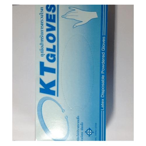 KT GLOVES ถุงมือแพทย์ PSB-S สีขาว