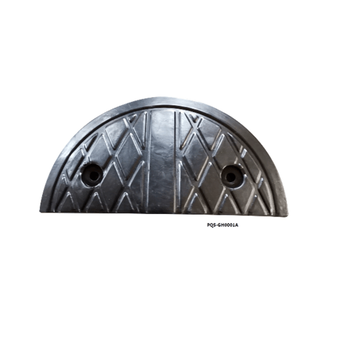 Protx ปิดหัวท้าย ยางชะลอความเร็ว  17.5X35x5Cm.   PQS-GH0001A สีดำ
