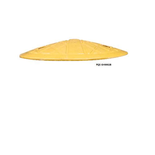 Protx ปิดหัวท้าย ยางชะลอความเร็ว  17.5X35x5 Cm.  PQS-GH0002B สีเหลือง
