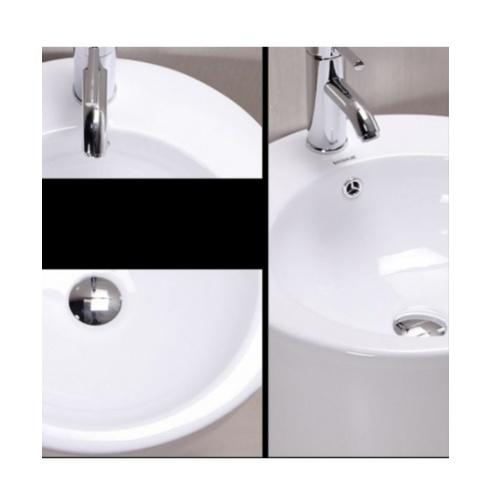 VERNO อ่างล้างหน้าแบบตั้งพื้น   รุ่น VN-12137WT(G301 สีขาว