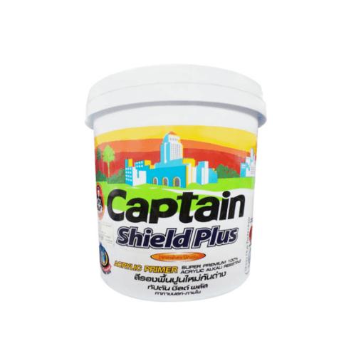 CAPTAIN สีรองพื้นปูนใหม่ 1000 ขาว